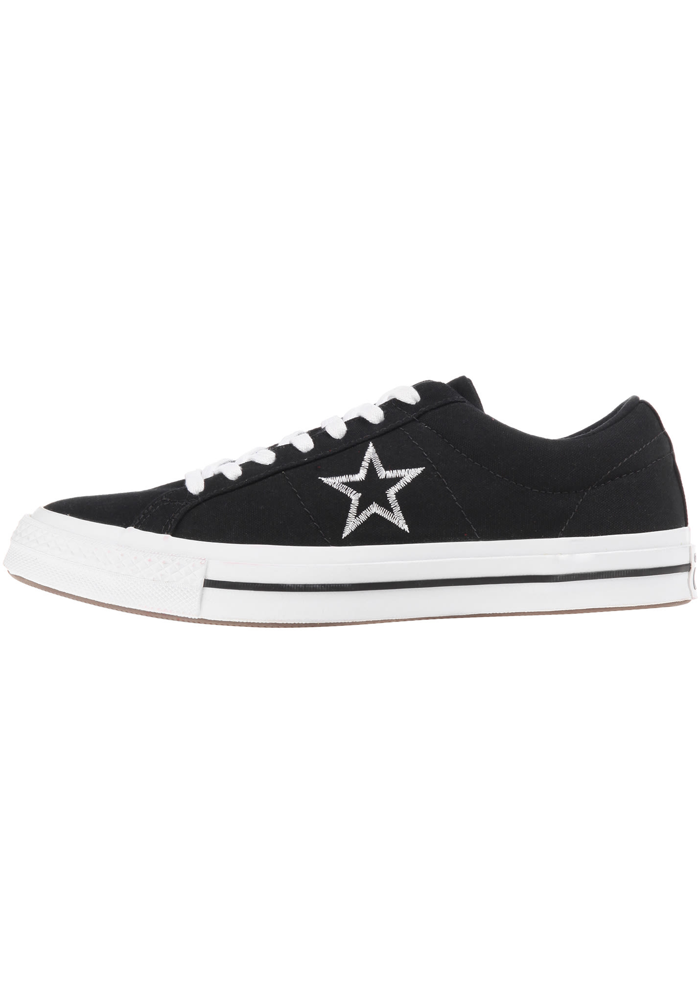 Converse One Star Ox - Sneakers - Black - Planet Sports 679133ba4