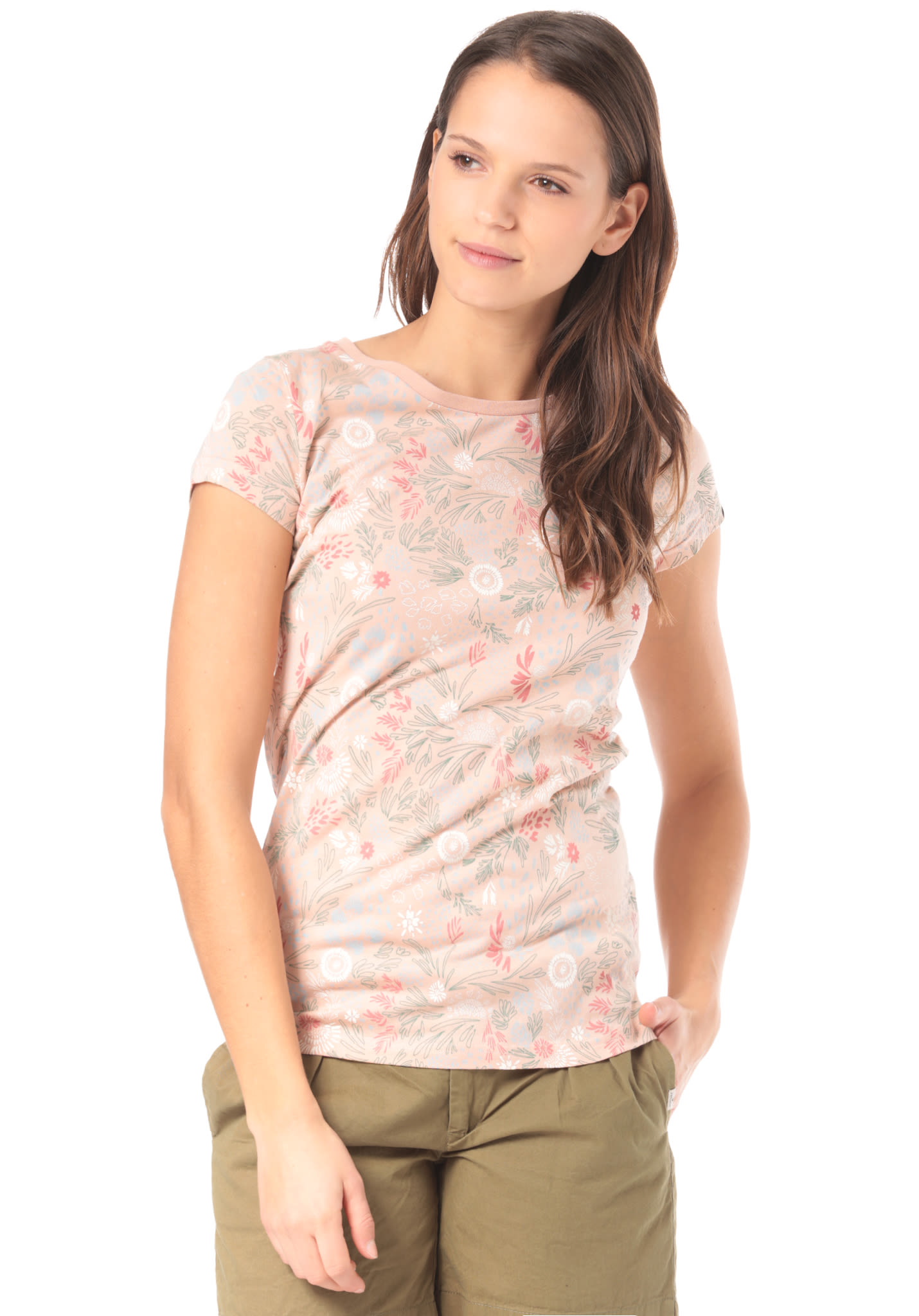 27c43bfe416b ragwear Mint D Organic - T-Shirt for Women - Pink - Planet Sports