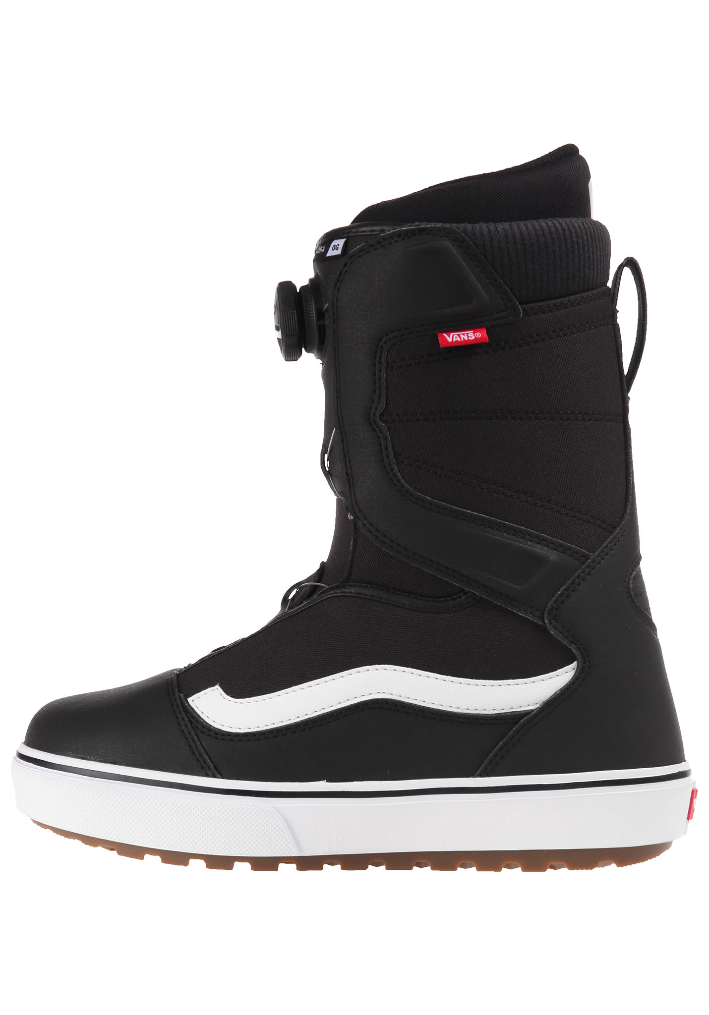 3793537acd Vans Aura OG - Snowboard Boots for Men - Black - Planet Sports