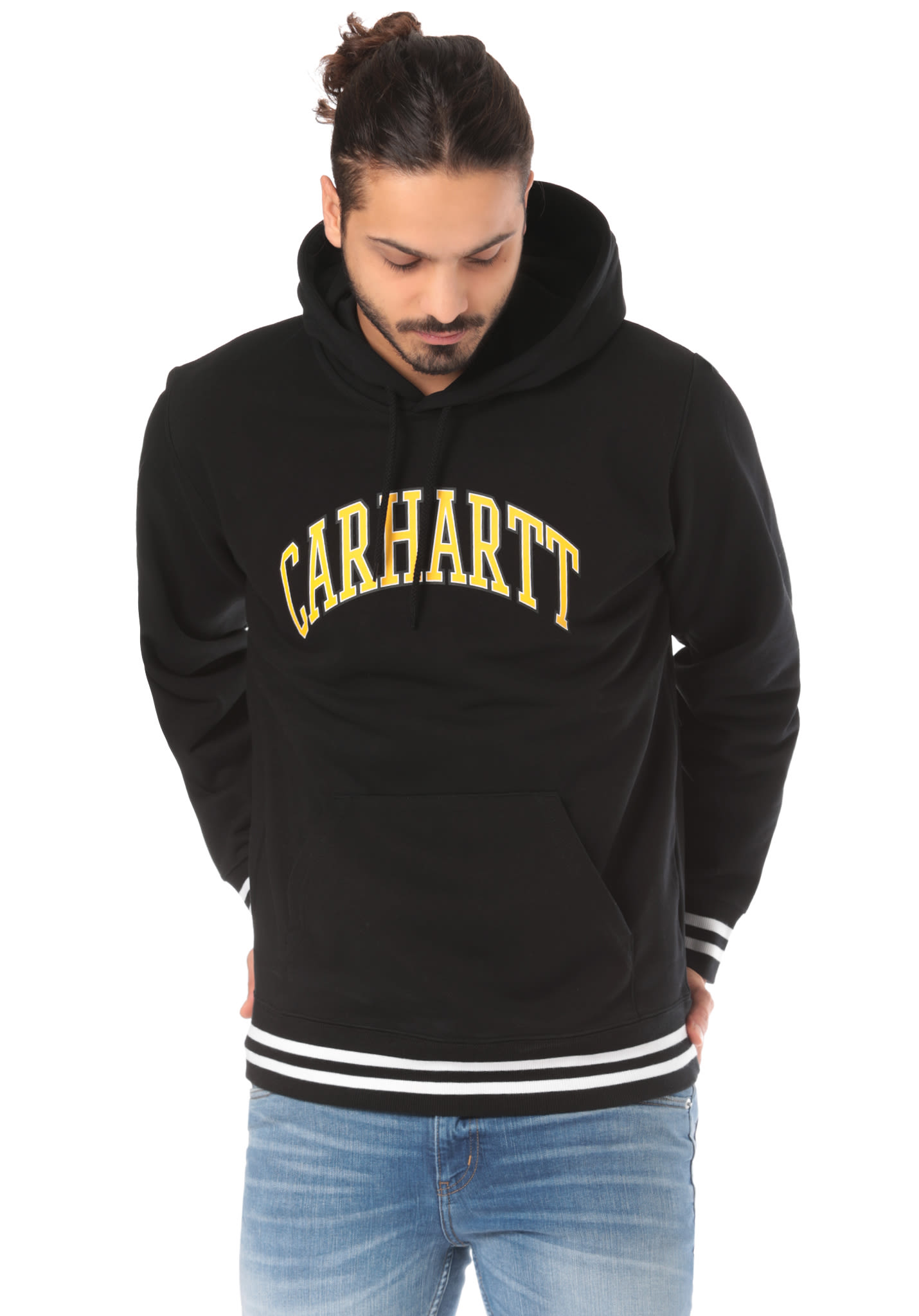 d14c8709 carhartt WIP Knowledge - Hooded Sweatshirt for Men - Black - Planet ...  carhartt