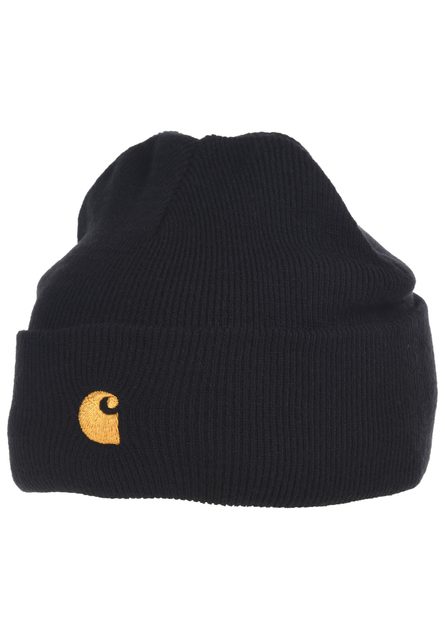 b9c75133b42e9 carhartt WIP Chase - Beanie - Black - Planet Sports