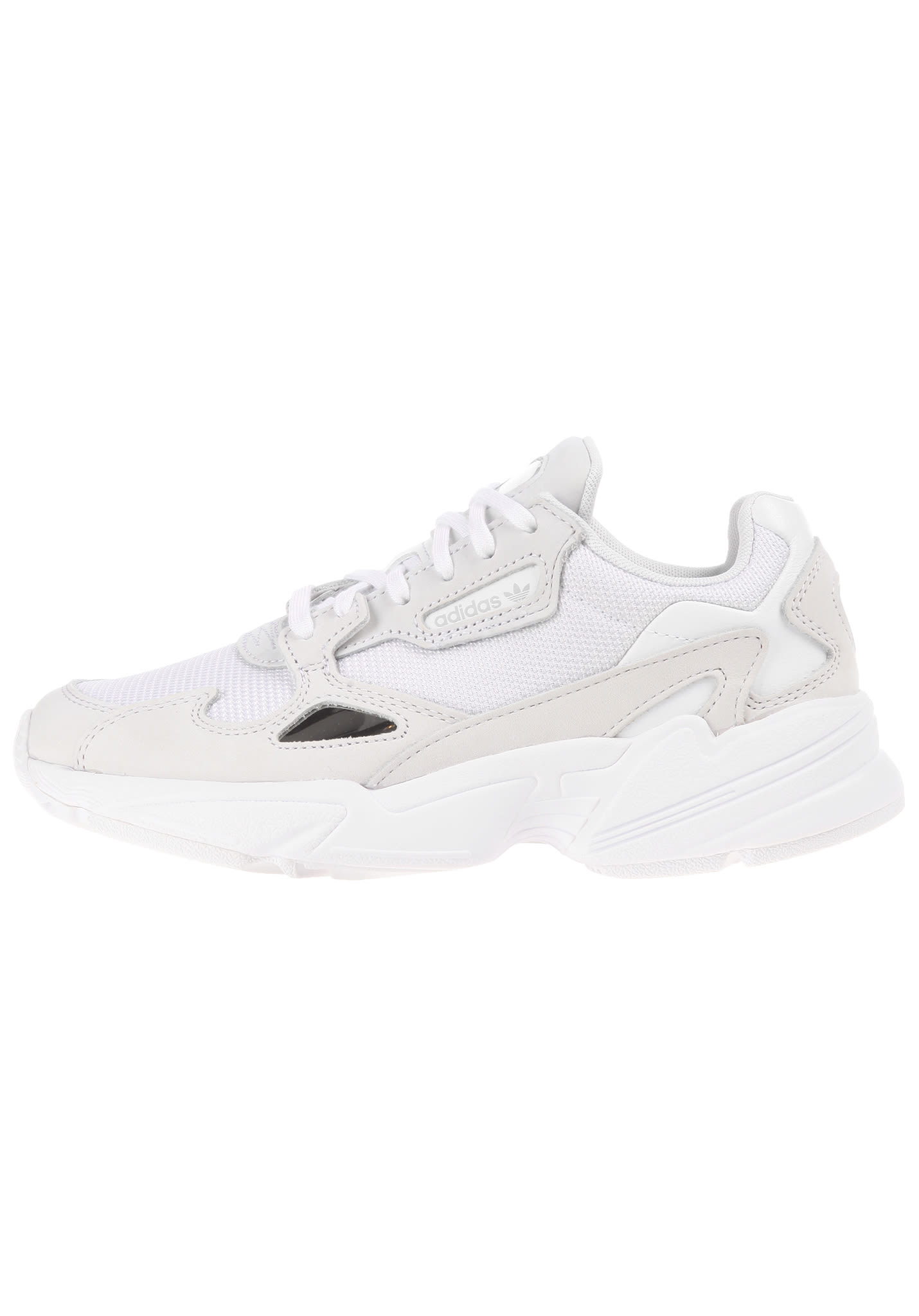 new product 8a3ae 6d15b ADIDAS ORIGINALS Falcon - Sneakers for Women - White - Plane