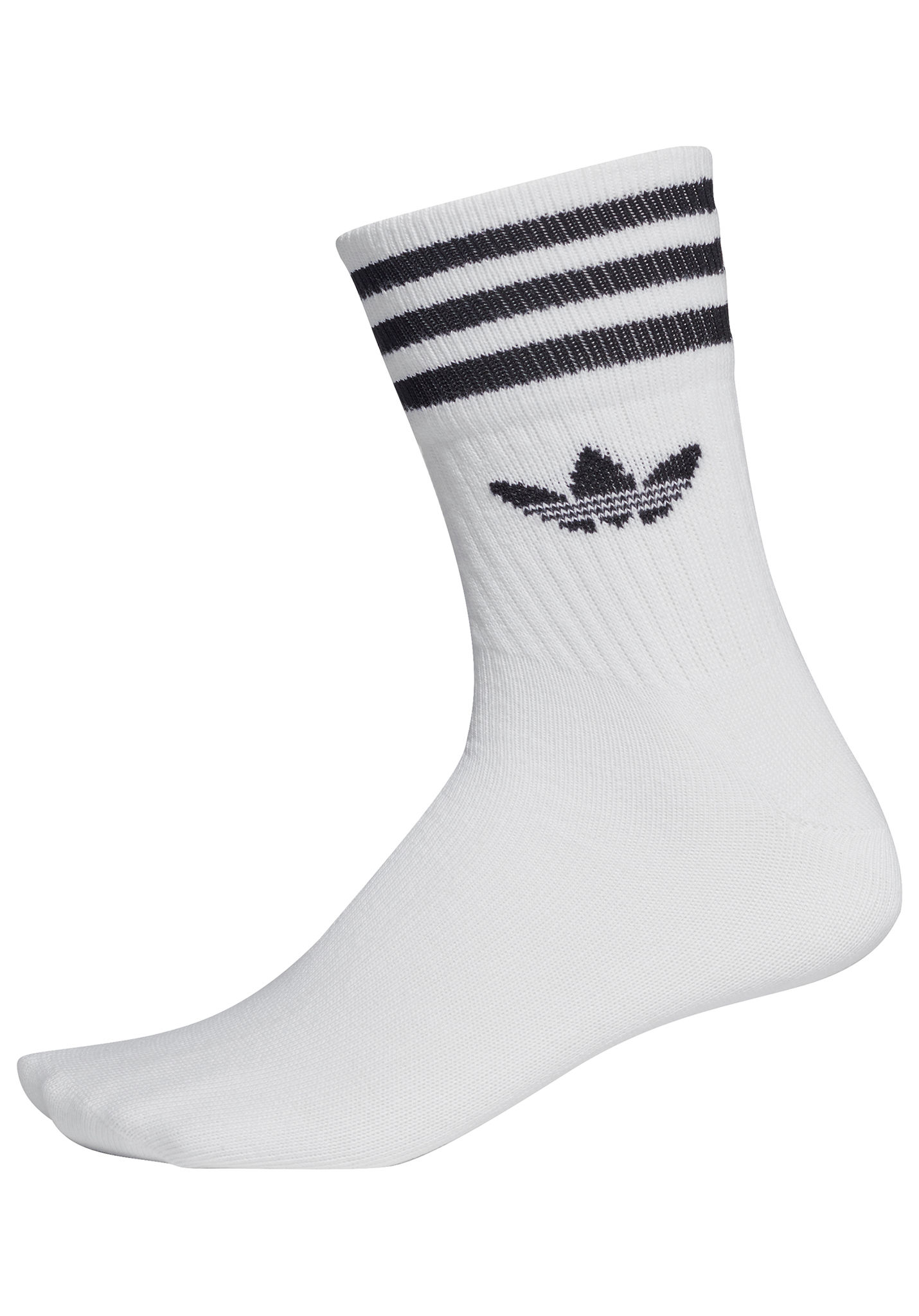 adidas Originals Mid Cut Crew - Socken - Weiß