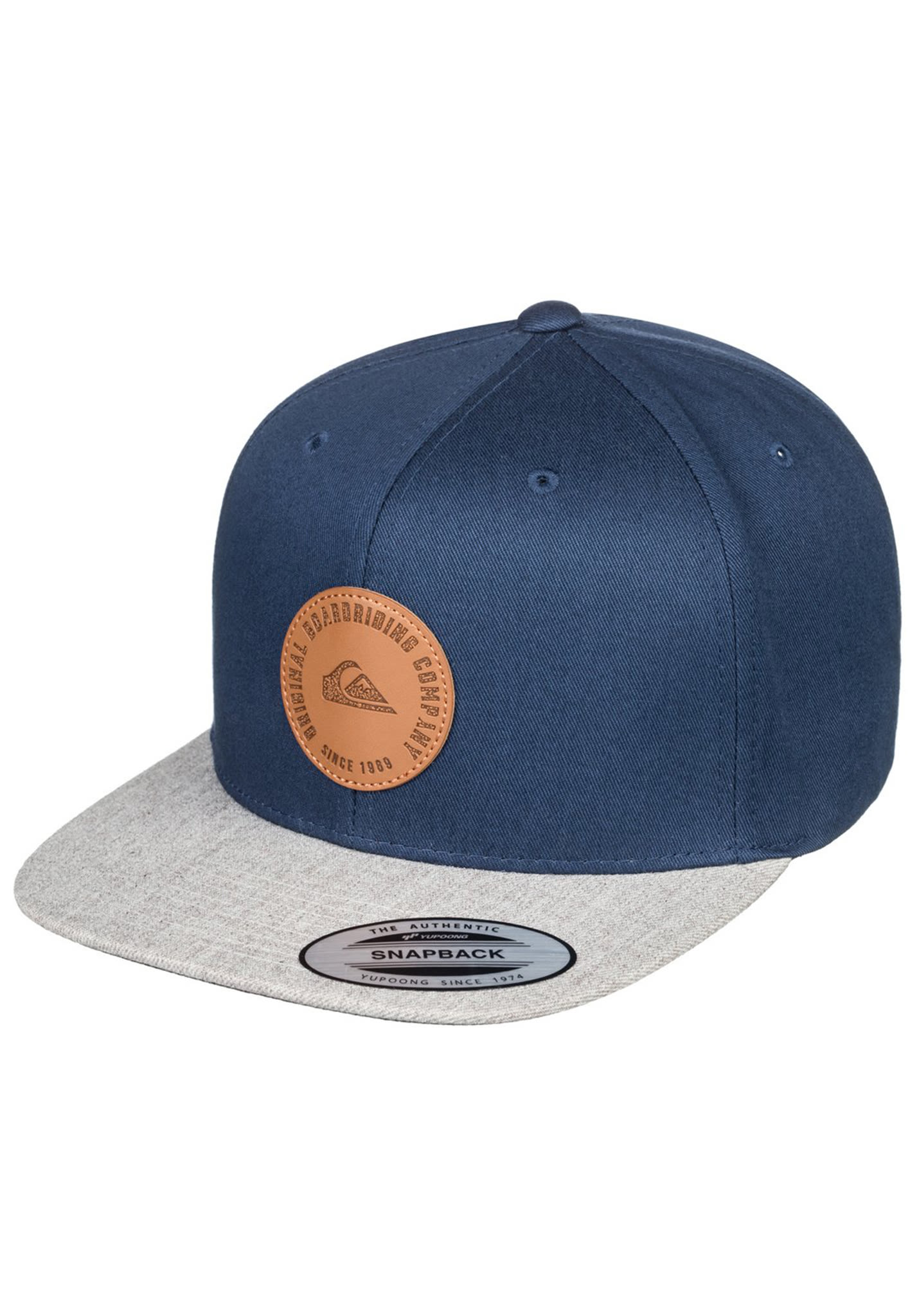 53a1adaeab0146 Quiksilver Hawkers - Snapback Cap for Men - Blue - Planet Sports