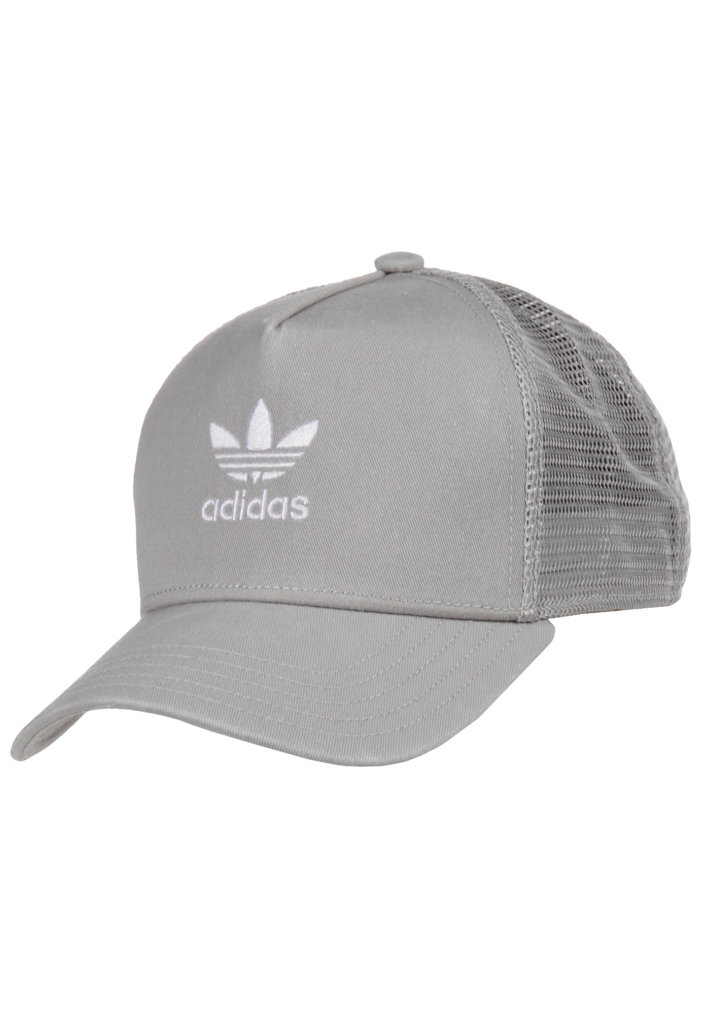 ADIDAS ORIGINALS Trefoil - Trucker Cap for Men - Grey - Planet Sports 9793e1b2fa8