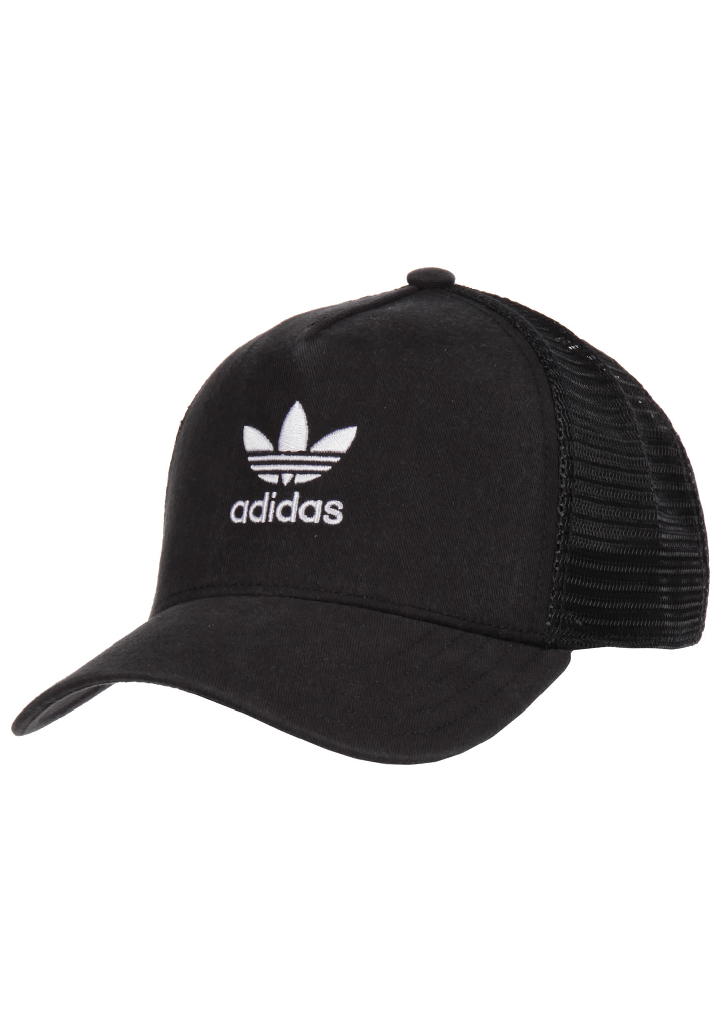 d081a796e06 ADIDAS ORIGINALS Trefoil - Trucker Cap for Men - Black - Planet Sports