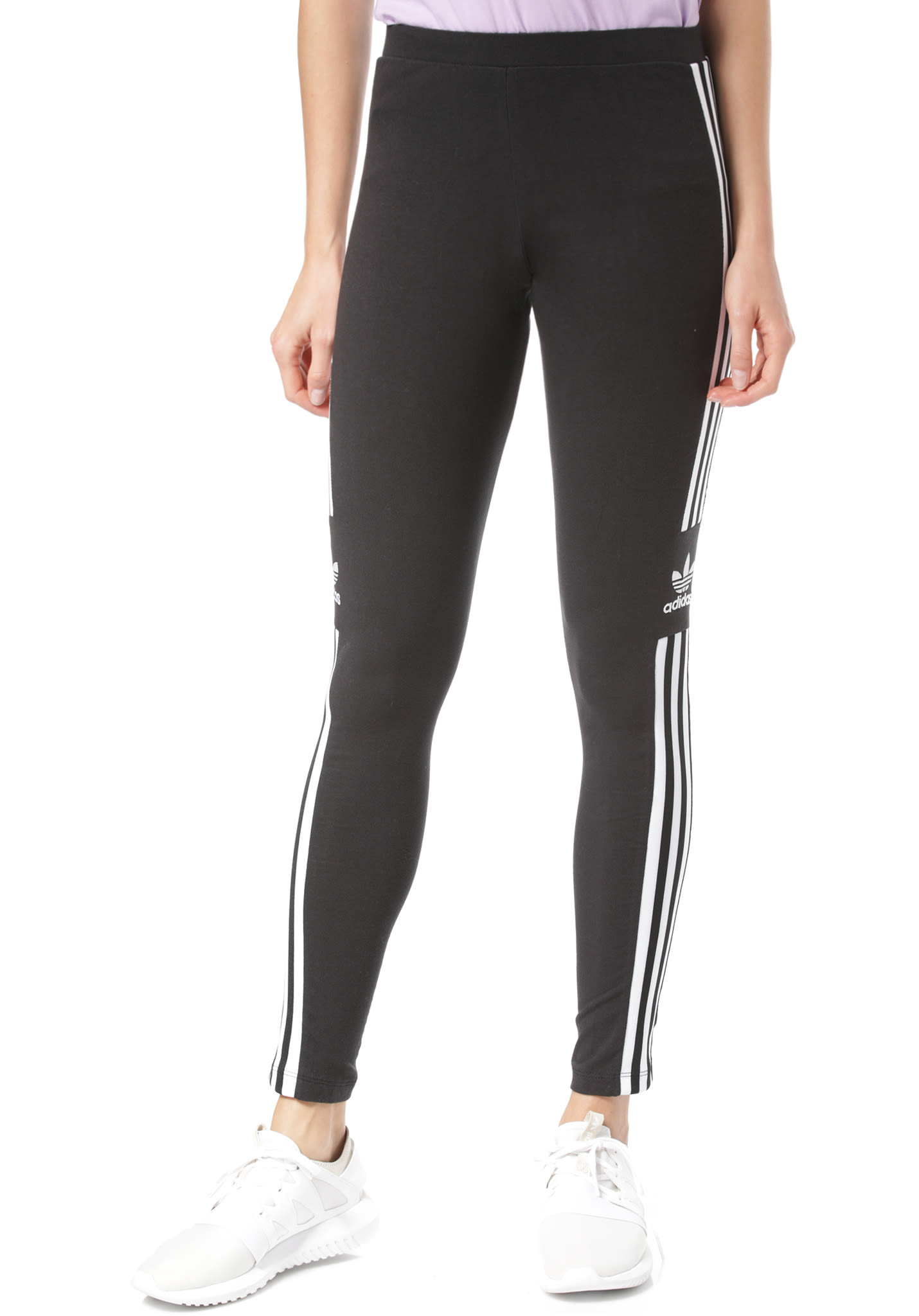 b01e0632d9369 ADIDAS ORIGINALS Trefoil - Leggings for Women - Black - Planet Sports