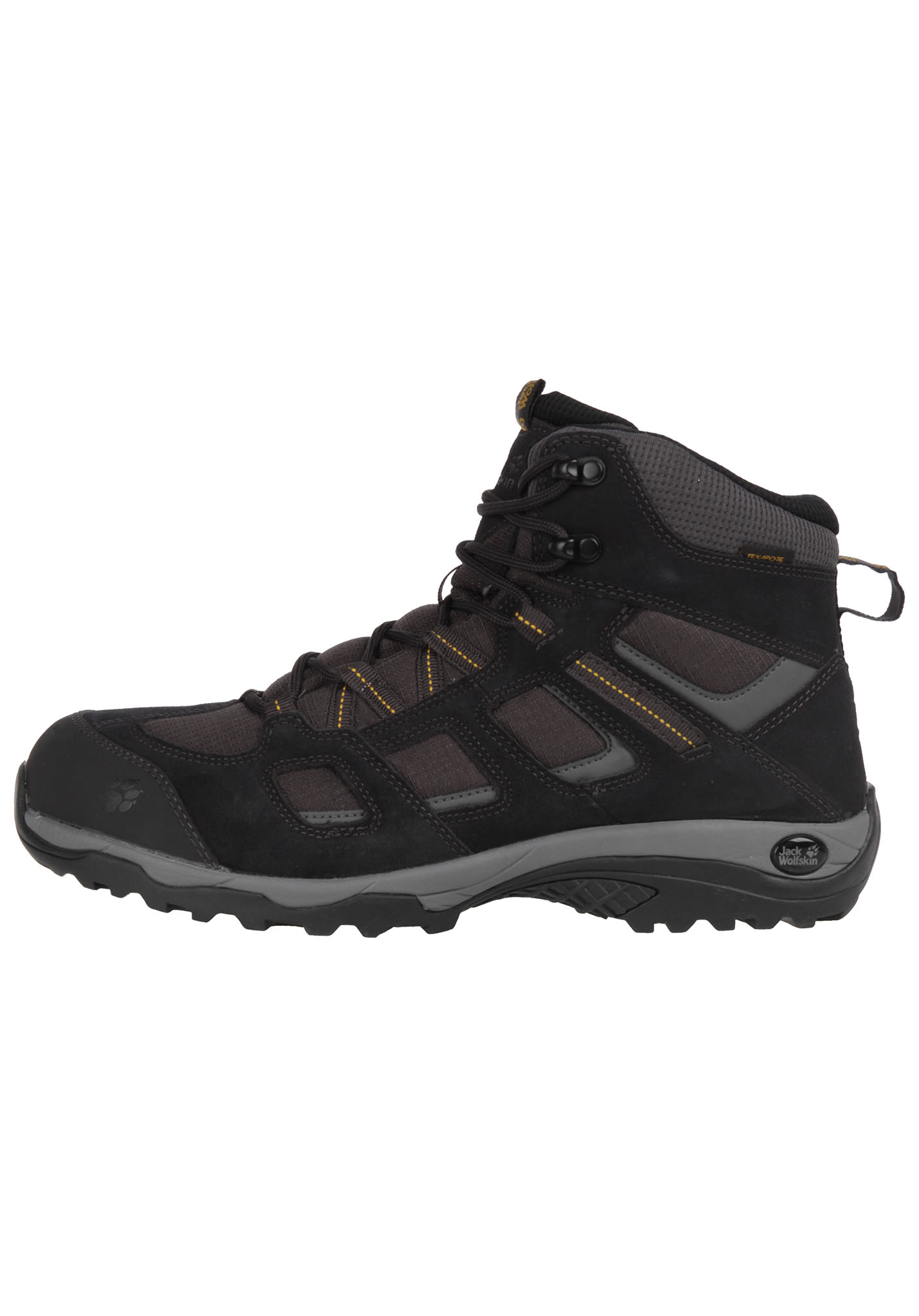 35ca3d1e59b332 Jack Wolfskin Vojo Hike 2 Texaporeid - Trekking Shoes for Men - Black -  Planet Sports