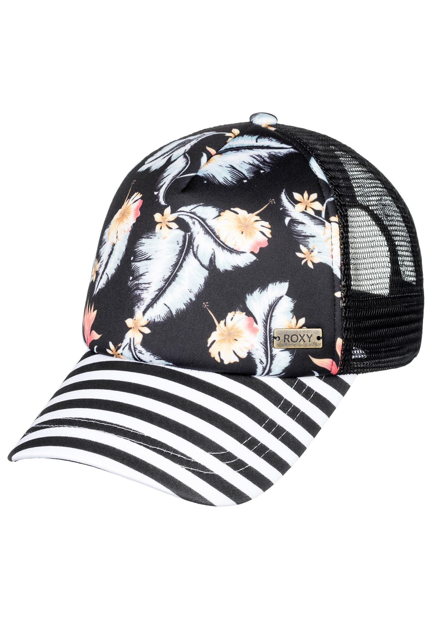 61b948f43702de Roxy Water Come Down - Trucker Cap für Damen - Schwarz - Planet Sports