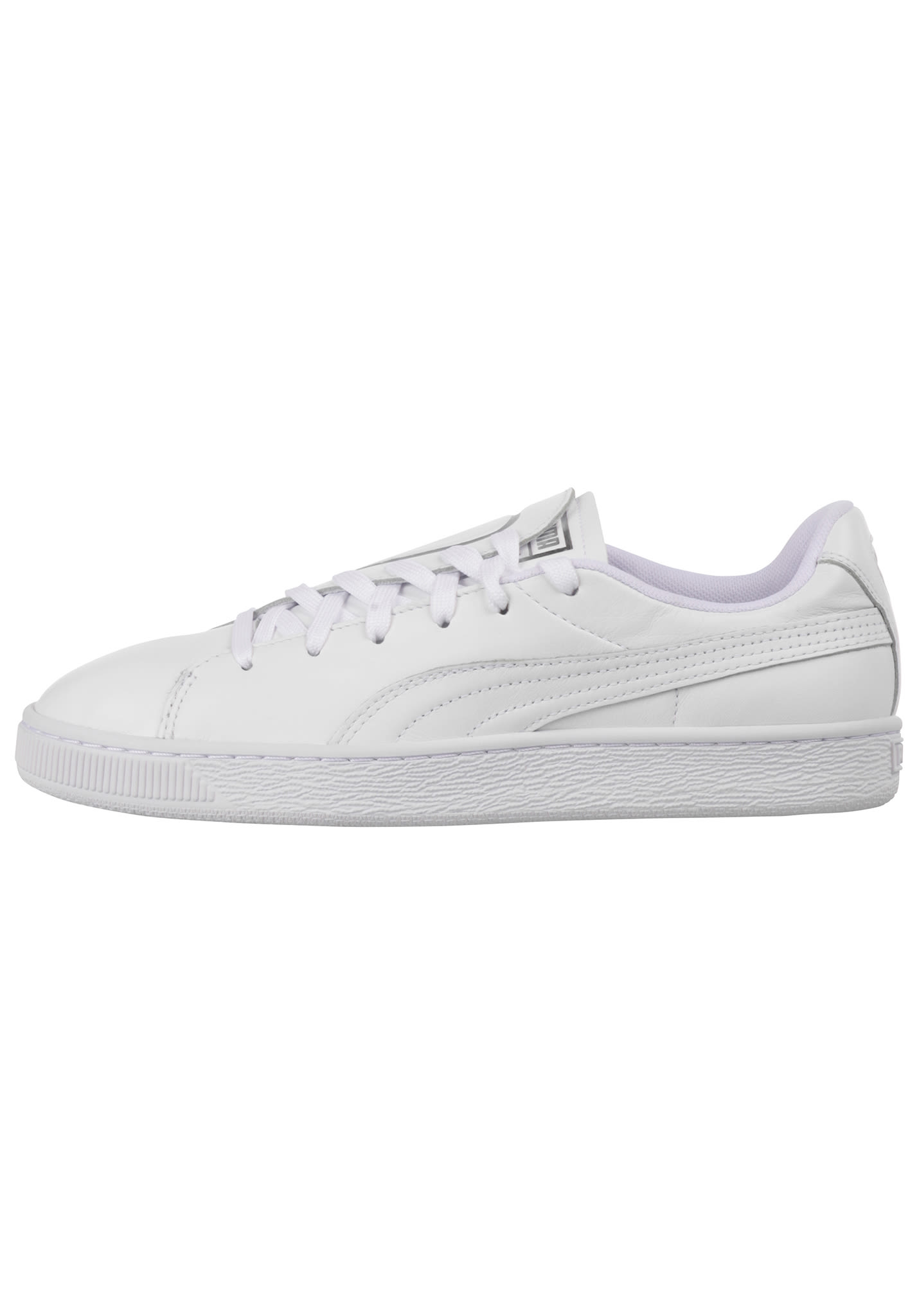 9d7abf670efc0b Puma Basket Crush Emboss - Sneakers voor Dames - Wit - Planet Sports