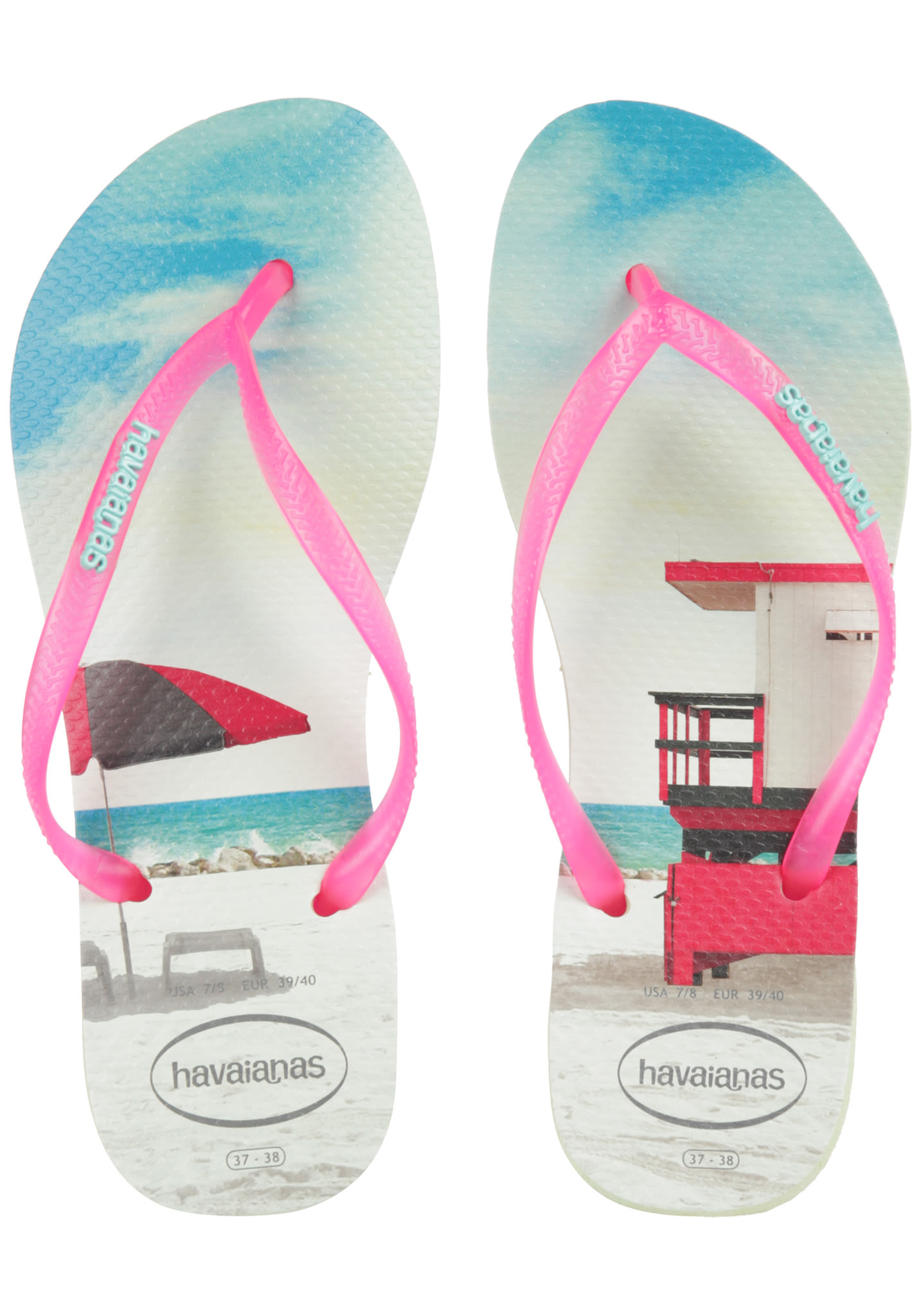 a7f9cd833 HAVAIANAS Slim Paisage - Sandals for Women - Green - Planet Sports