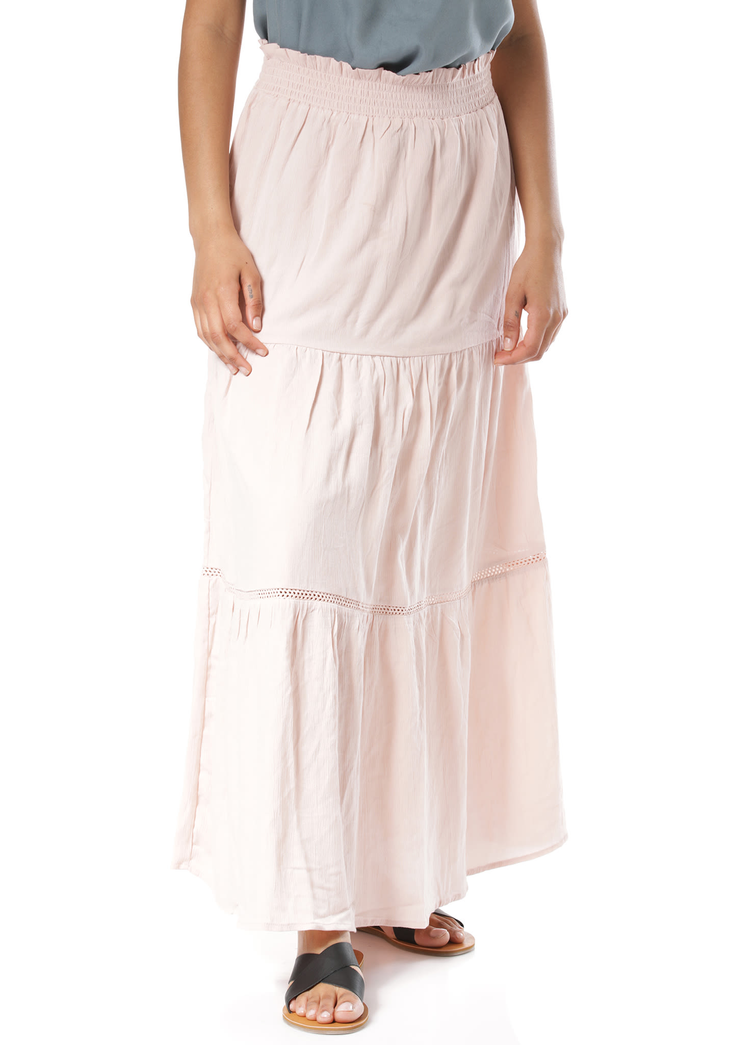 c6f4662133 Vila Vitaliah Maxi - Skirt for Women - Pink - Planet Sports