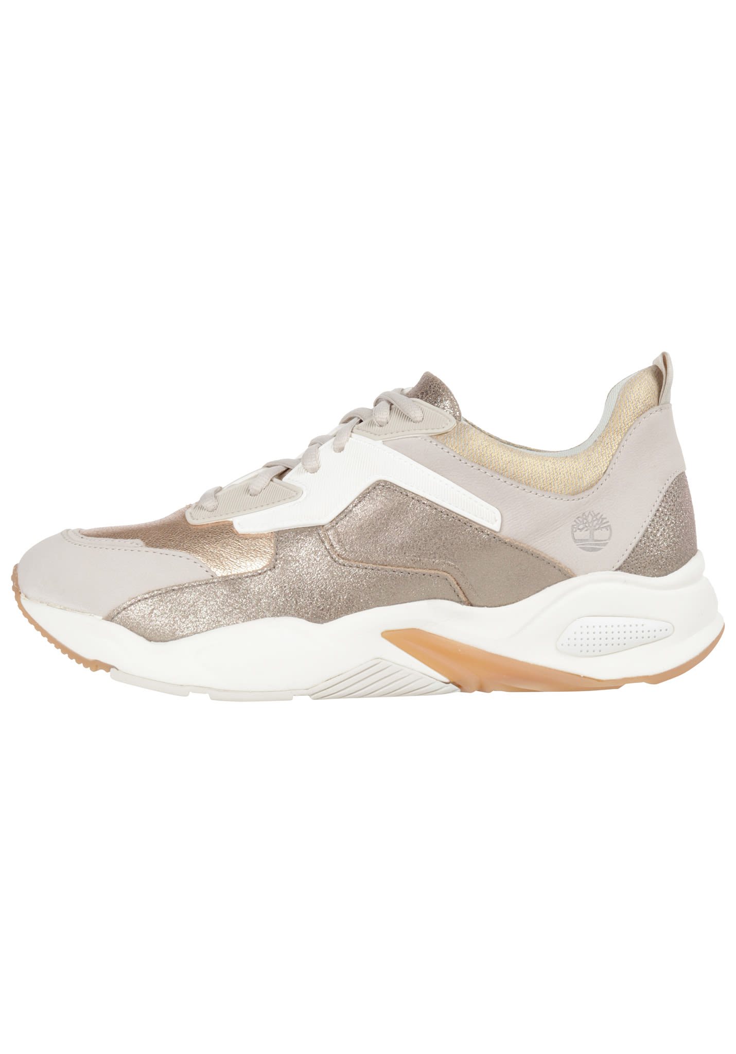 194a6fa0829 TIMBERLAND Delphiville Lthr - Sneakers voor Dames - Goud - Planet Sports