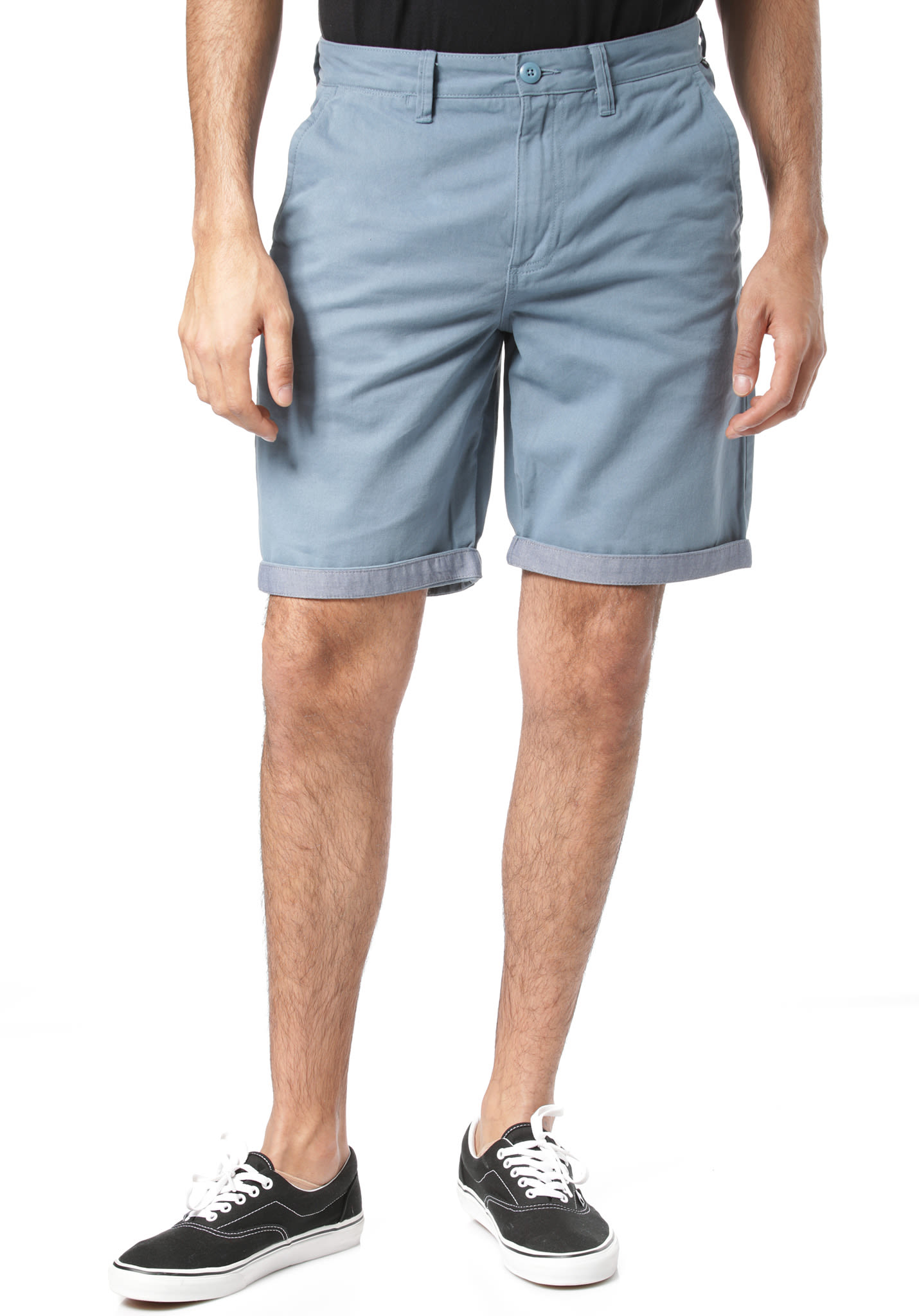 VANS Authentic Cuff Shorts für Herren Blau