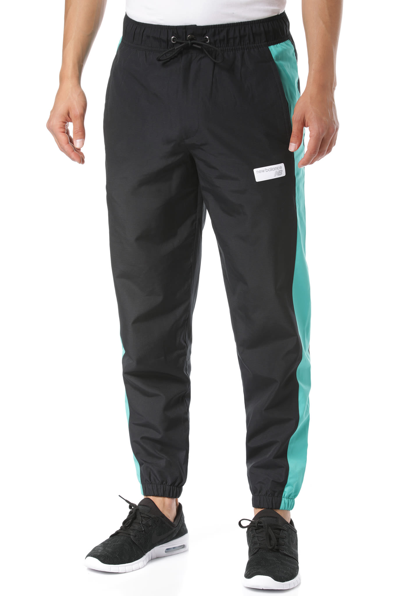e8bb2a7f NEW BALANCE MP91507 - Trackpants for Men - Black