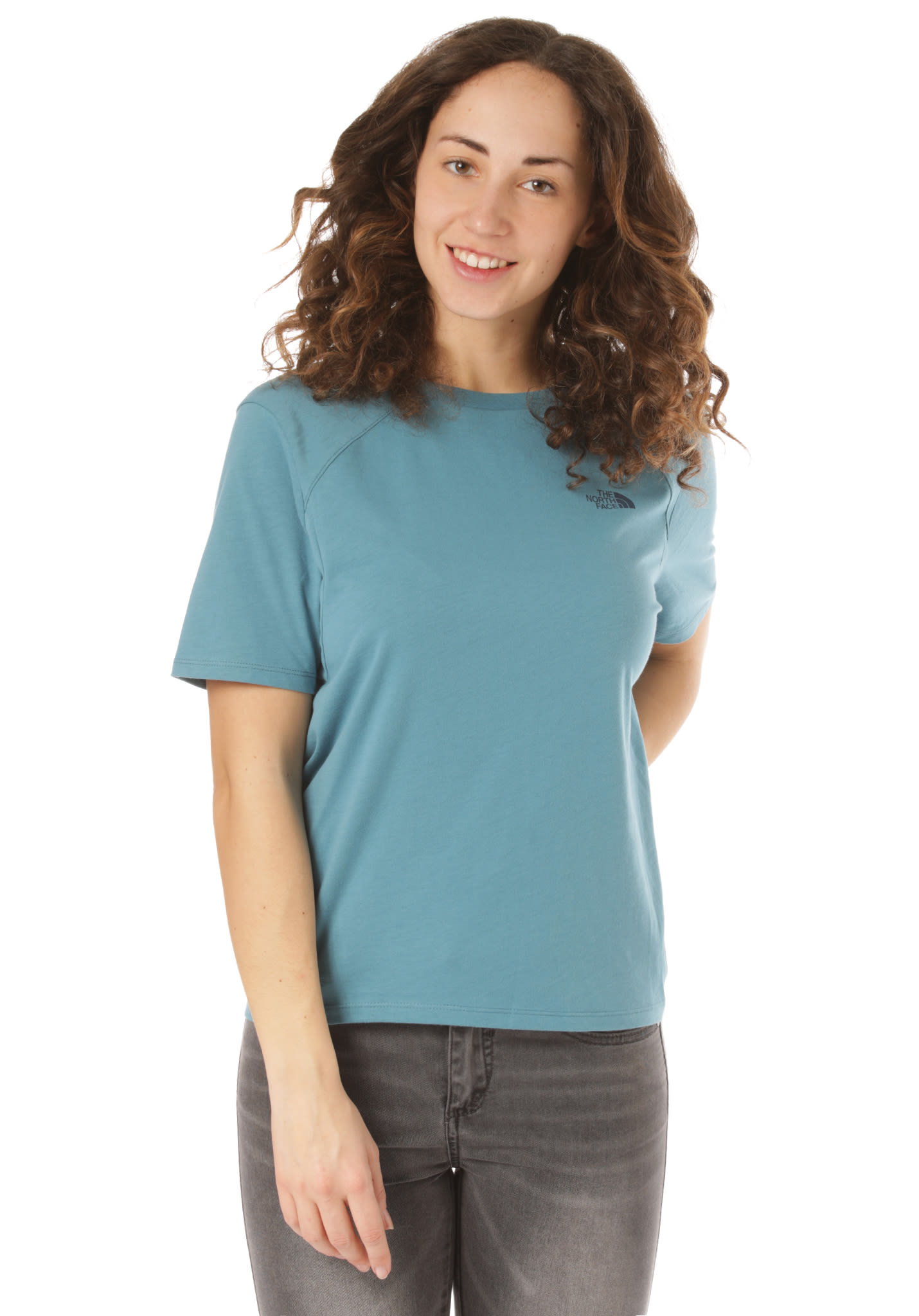 8f4b87c0 THE NORTH FACE Premium Simple Dome - T-Shirt for Women - Blue - Planet  Sports