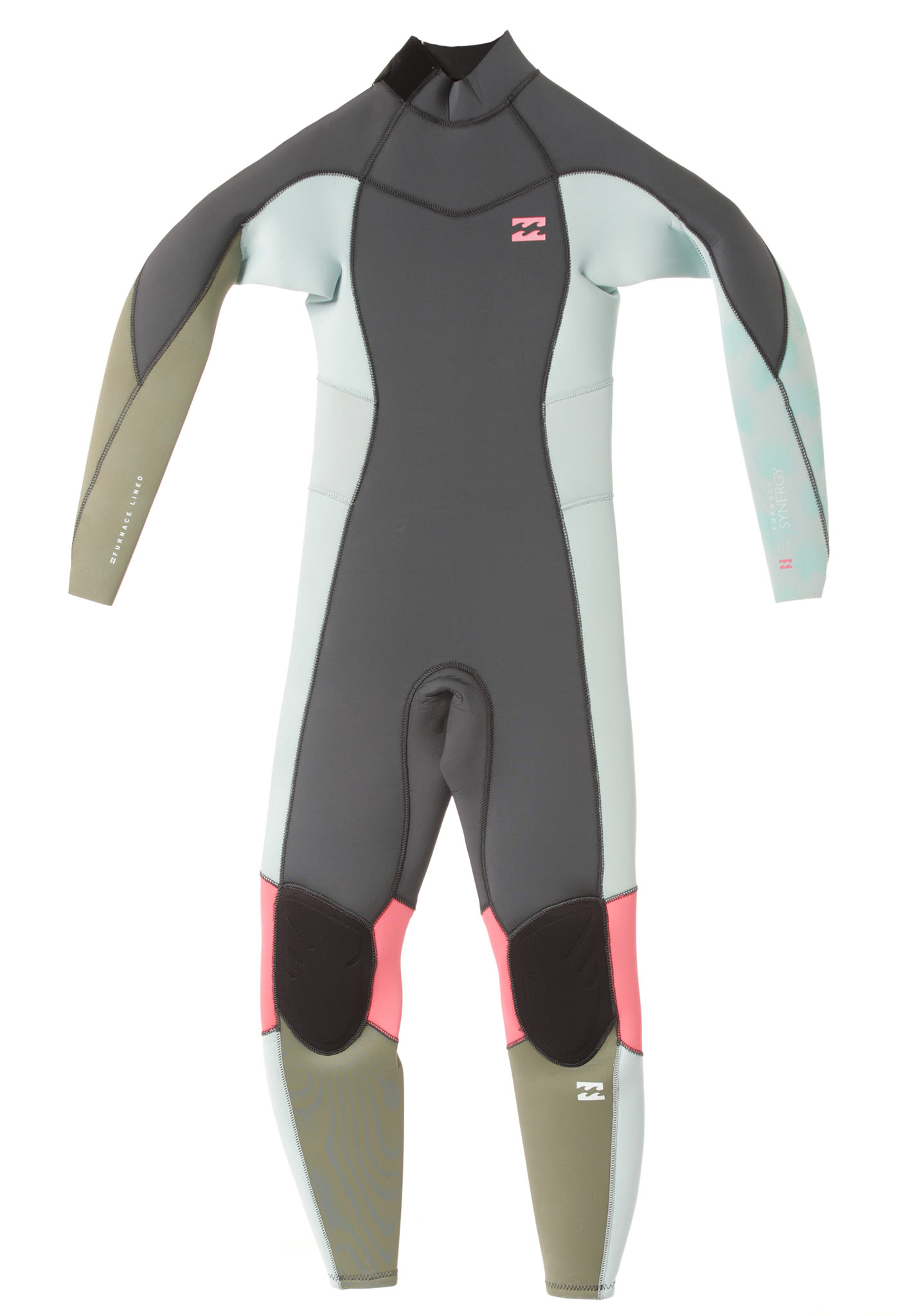 a4dd476b15 BILLABONG Furnace Synergy 3 2Mm Back Zip - Wetsuit for Kids Girls -  Multicolor - Planet Sports