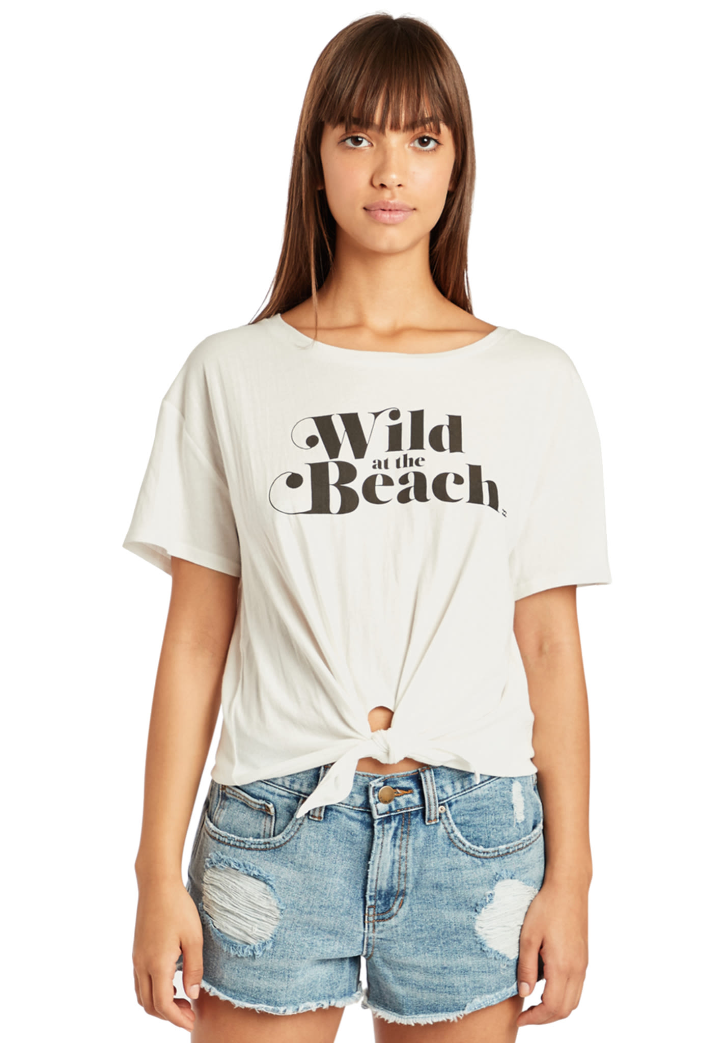 927f4b9a3 BILLABONG Beach Everyday - T-Shirt for Women - Beige - Planet Sports