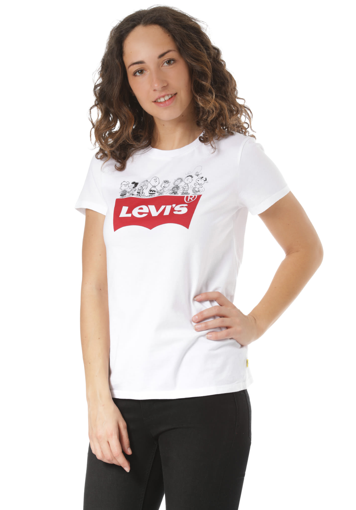 50aa6f5649af42 Levi s The Perfect - T-Shirt for Women - White - Planet Sports