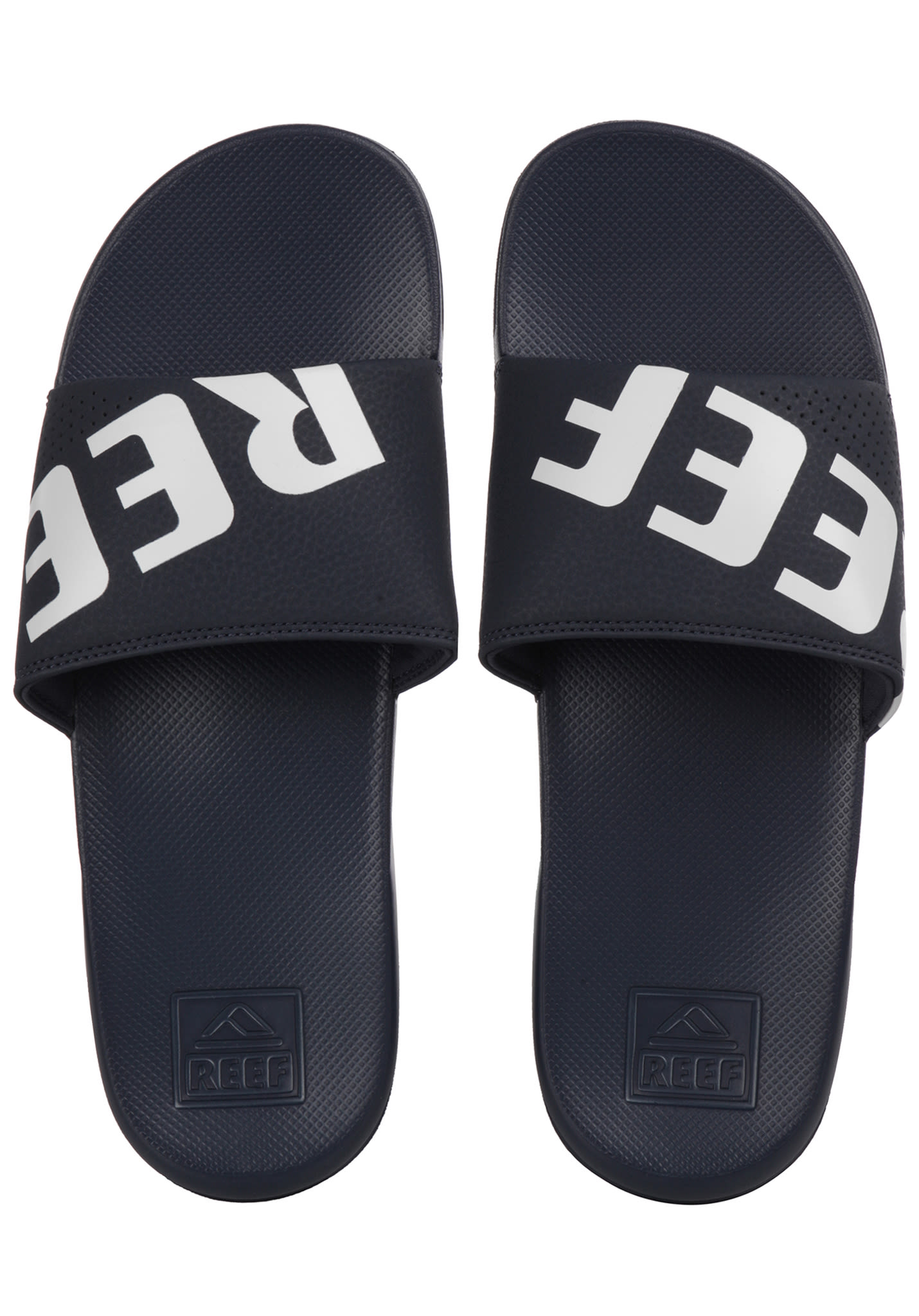 a6416e62c9cff Reef One Slide - Sandals for Men - Blue - Planet Sports
