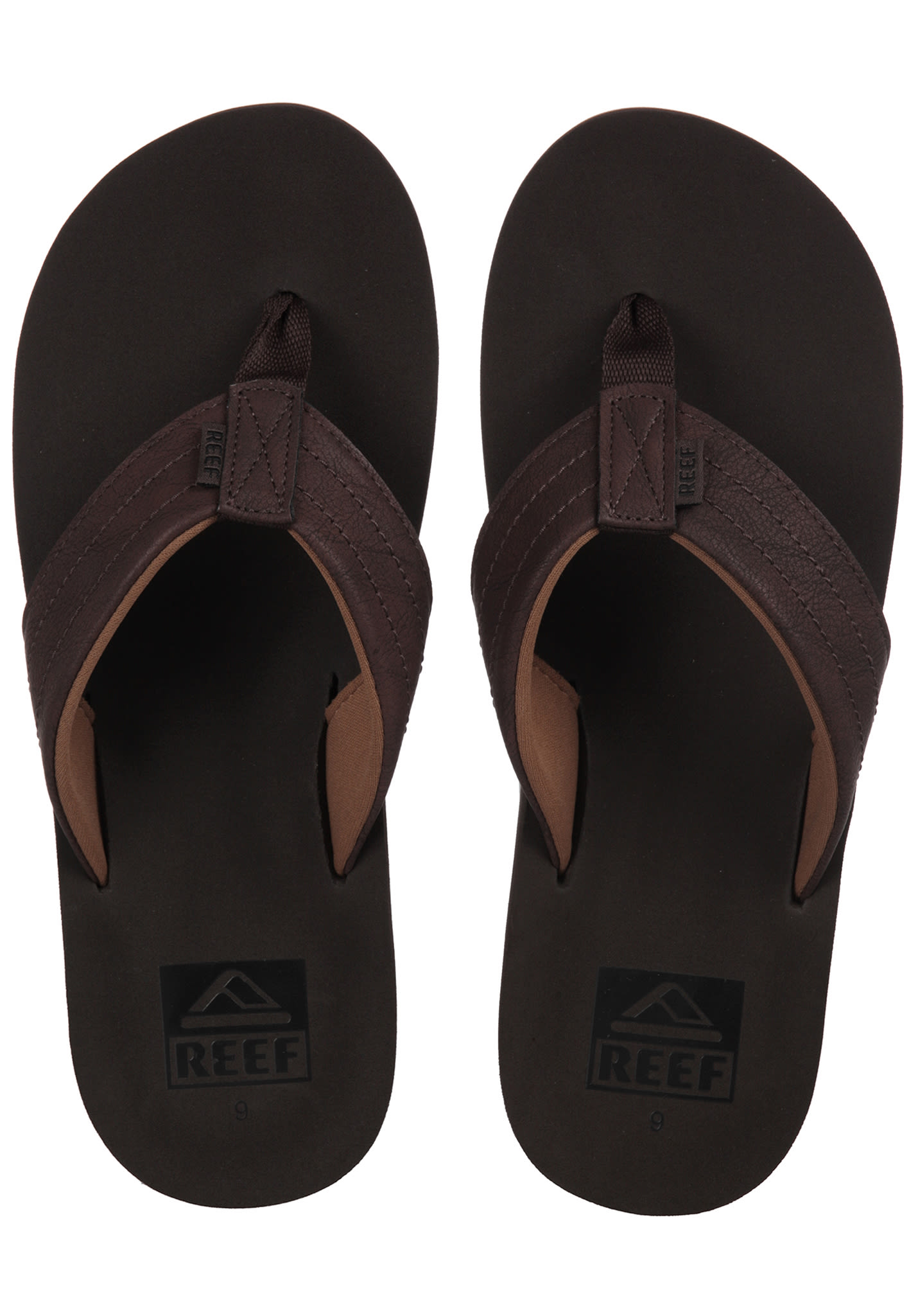 9abe3e6b9 Reef Twinpin Lux - Sandals for Men - Brown - Planet Sports