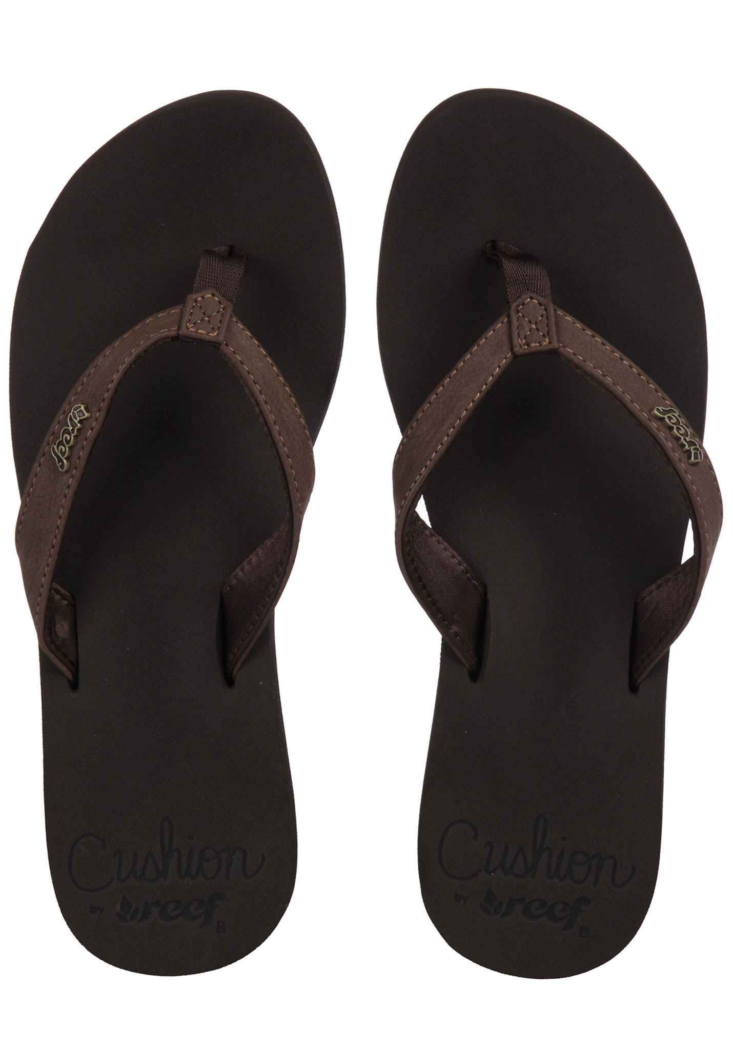 241d429275b4 Reef Cushion Luna - Sandals for Women - Brown - Planet Sports