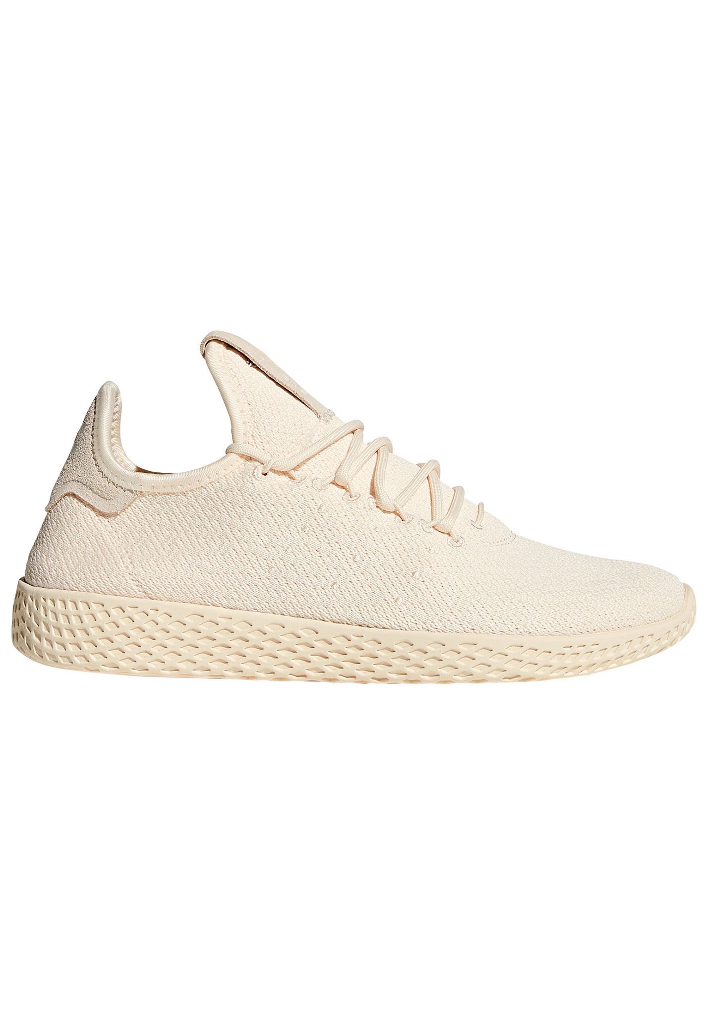 adidas Originals Pharrell Williams Tennis Hu Sneaker für Damen Beige