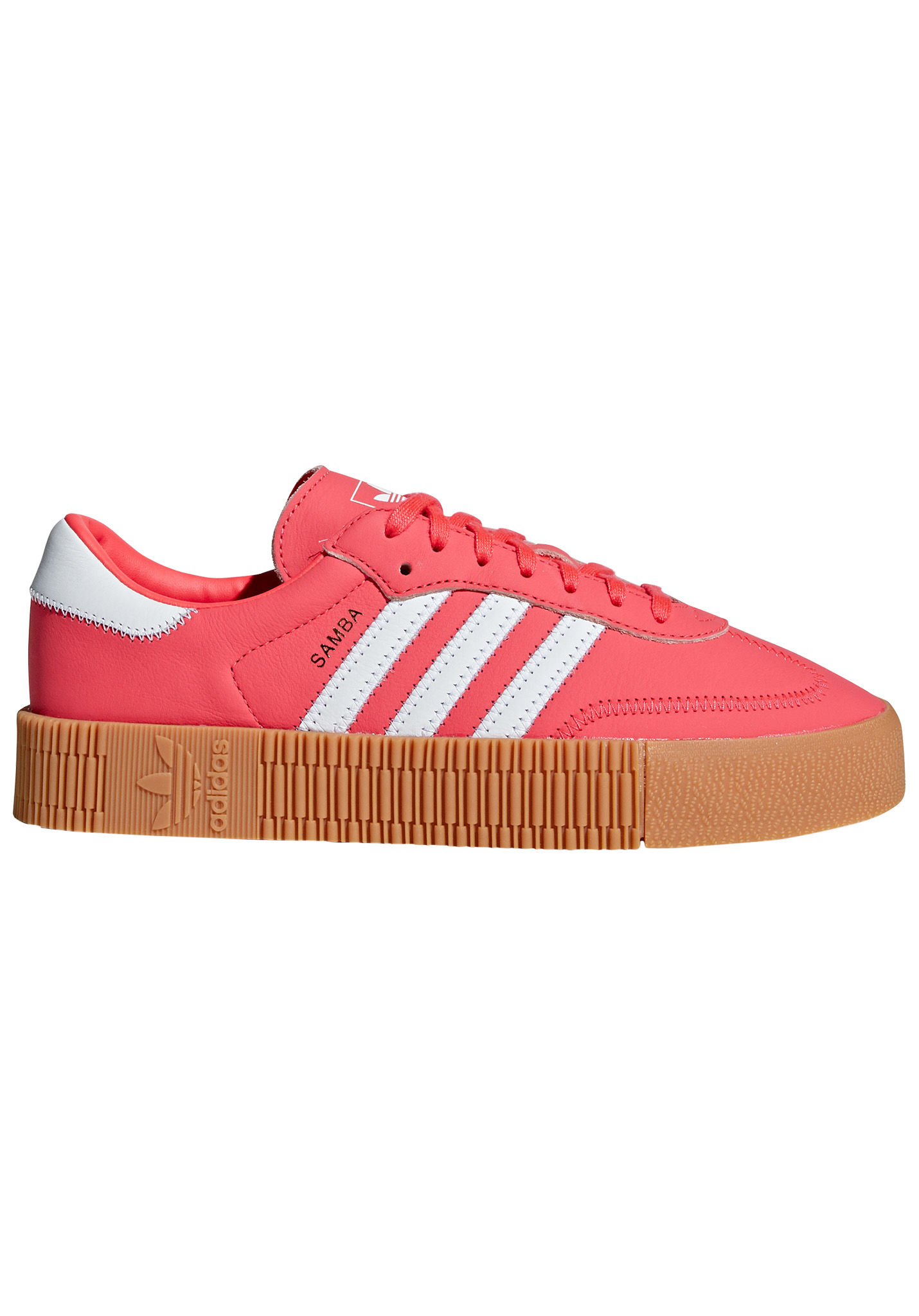 1bdff083324319 ADIDAS ORIGINALS Sambarose - Sneakers for Women - Red - Planet Sports