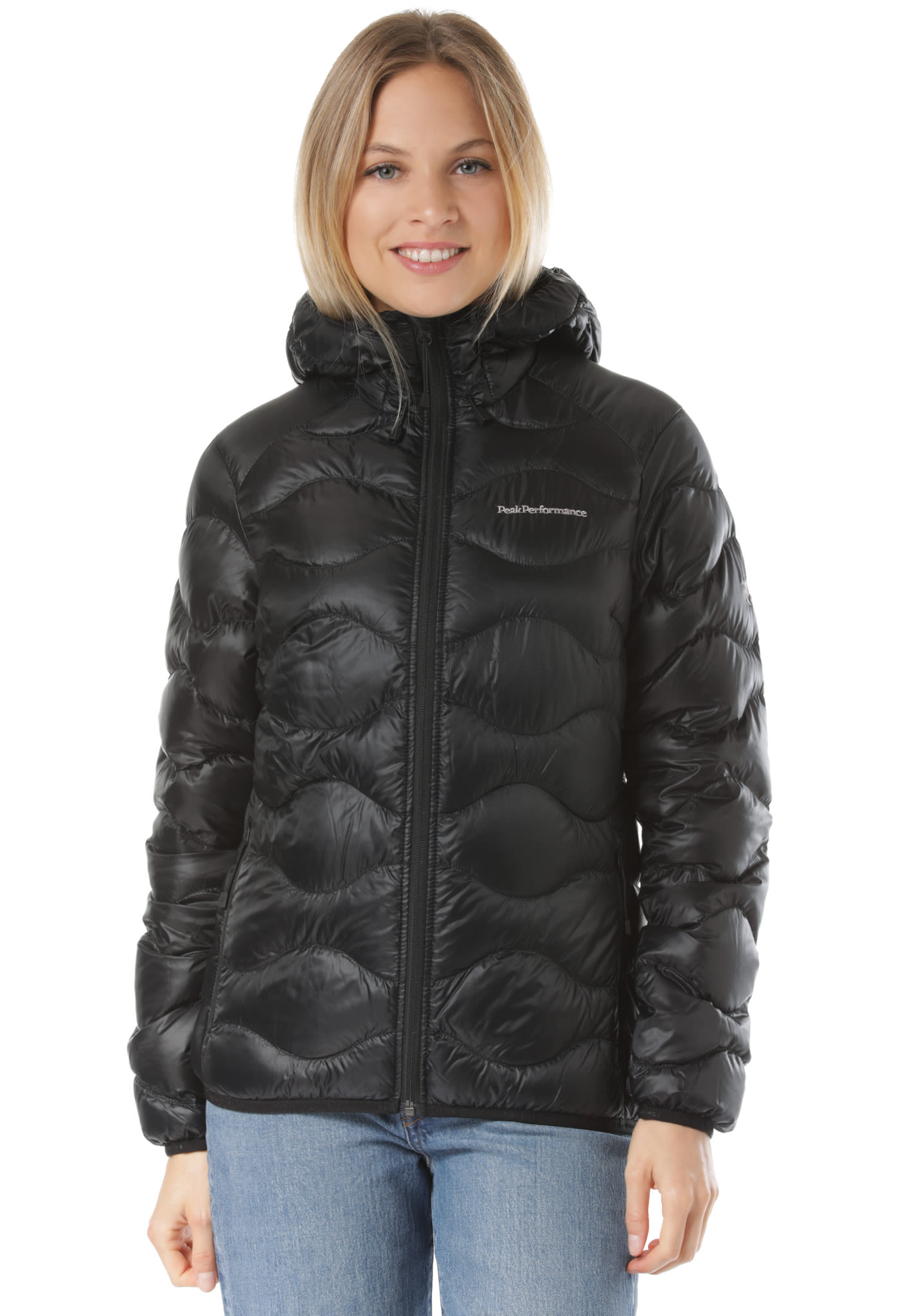 PEAK PERFORMANCE Helium Outdoorjacke für Damen Schwarz