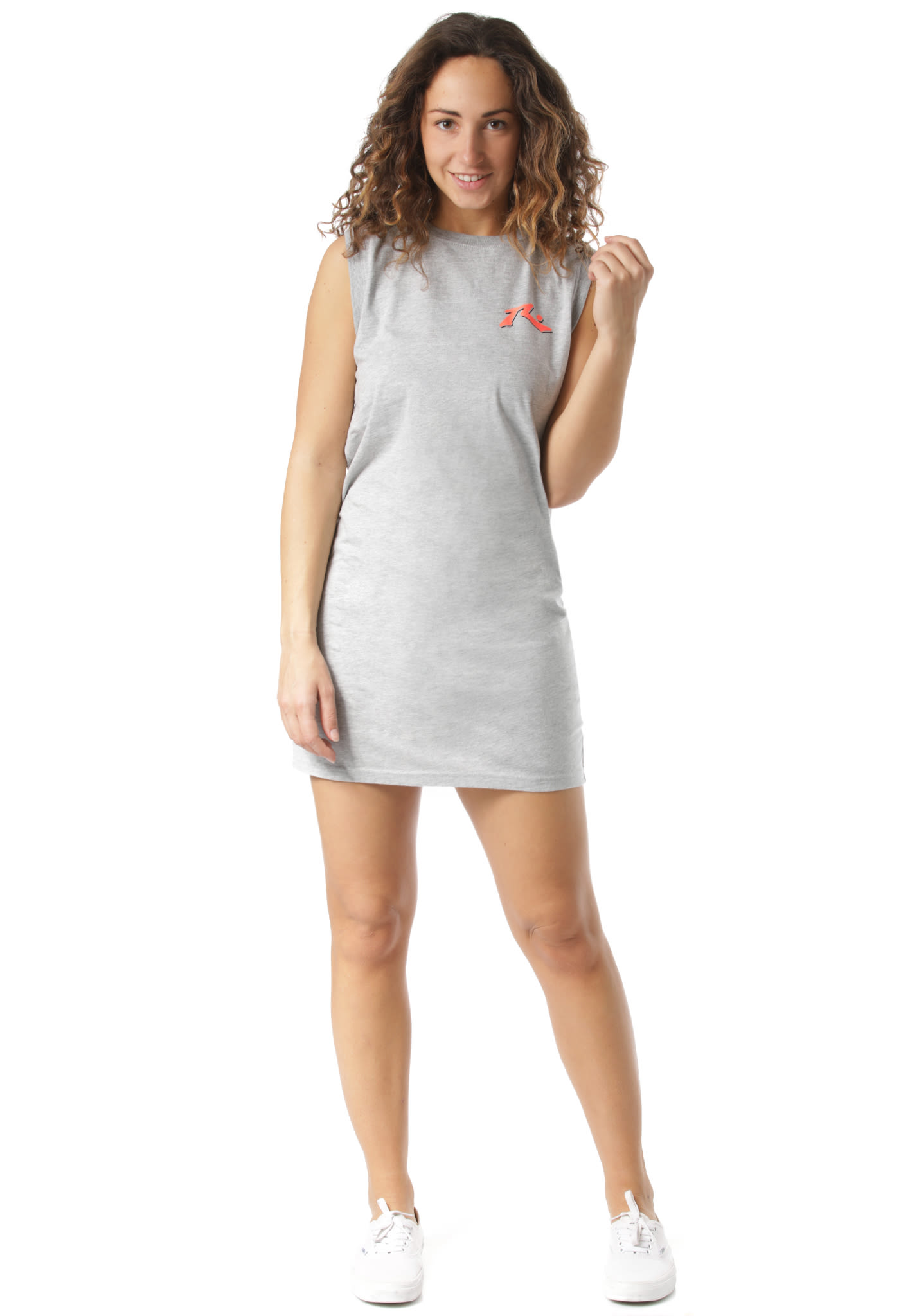 1d07d1edd94 Rusty Stained Glass Muscle - Dress for Women - Grey - Planet Sports