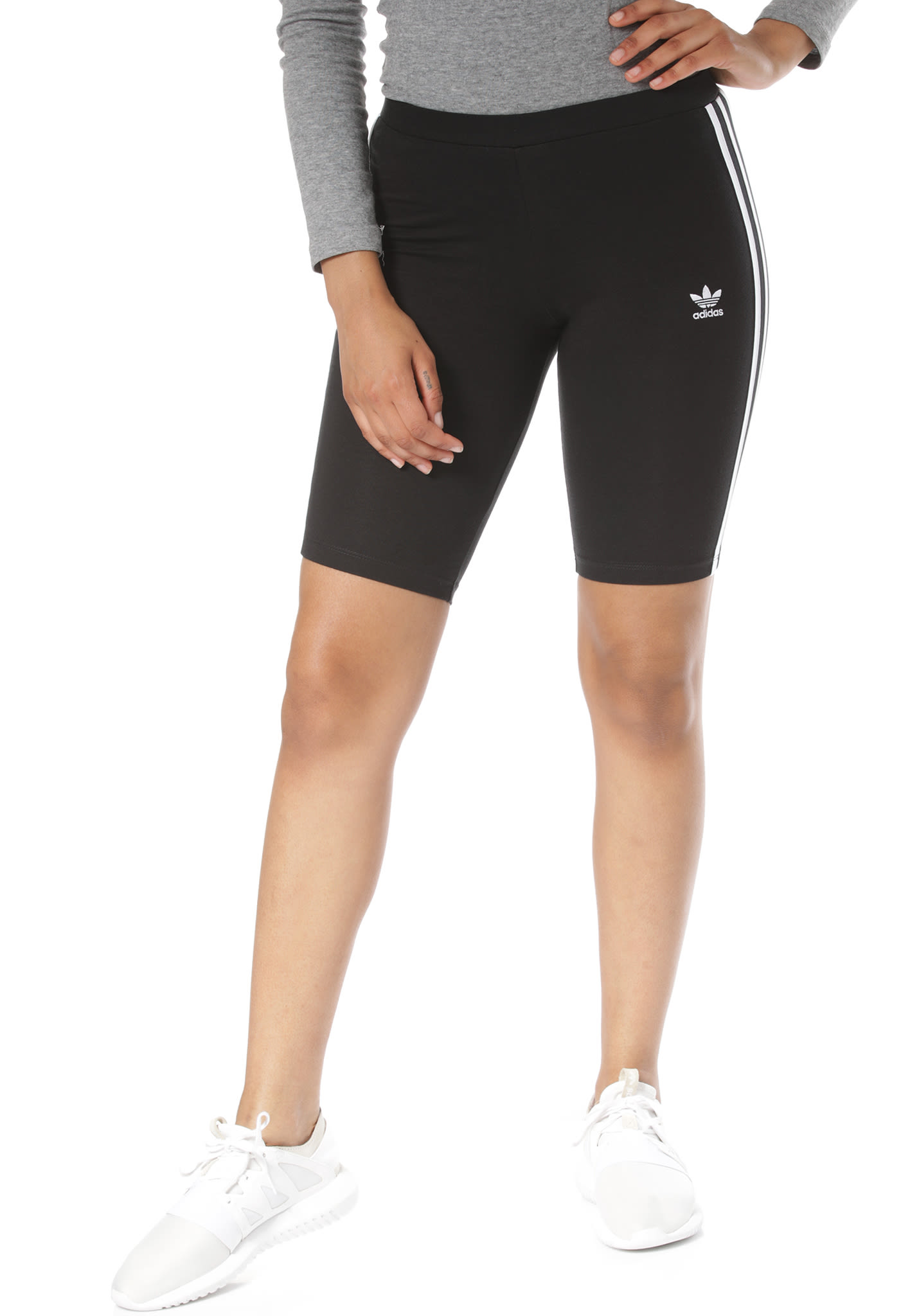 adidas Originals Cycling Shorts für Damen Schwarz