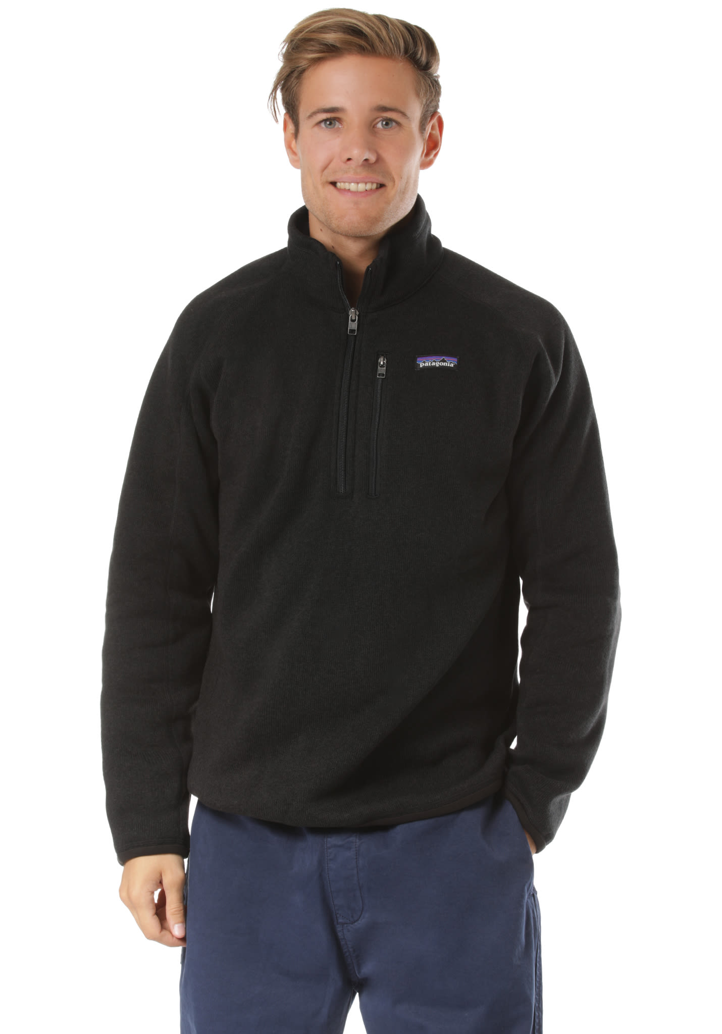PATAGONIA Better Pull polaire pour Homme Noir