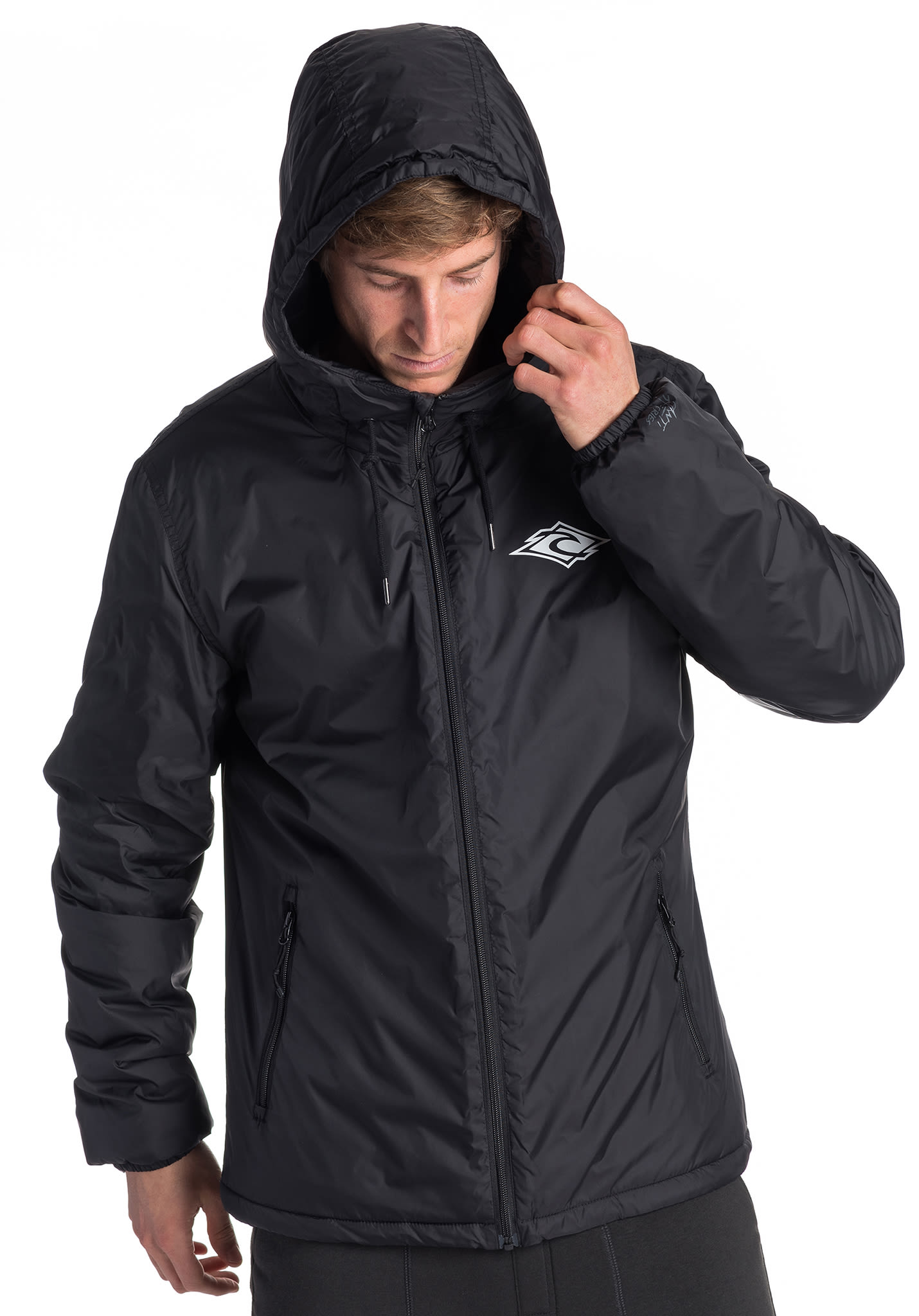 Rip Curl Sea Troop Insulated Jacket for Men Black