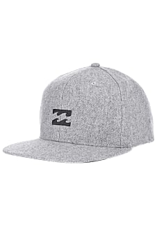 6d93127ee87 BILLABONG All Day Heather - Snapback Cap für Herren - Grau