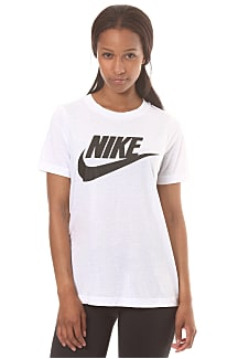 e7a62f46414e5 NIKE SPORTSWEAR Essential - T-Shirt für Damen - Weiß - Planet Sports