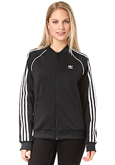 adidas Originals Sst Trainingsjacke für Damen Schwarz