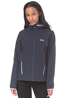 Damen Jack Wolfskin Softshelljacke TURBULENCE JACKET WOMEN