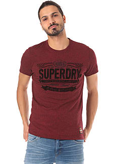 SUPERDRY Union Supply Heritage Classic - T-Shirt für Herren - Rot 9f6dfa1986
