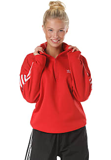 adidas Originals Lock Up Sweatshirt für Damen Rot