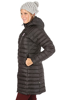 ff750834b4cef FJÄLLRÄVEN Snow Flake Parka Jacket - Jacket for Women - Black ...