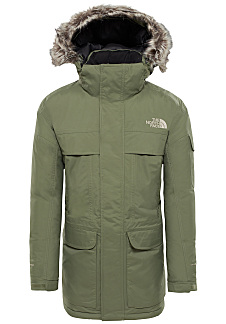 THE NORTH FACE Mcmurdo - Giacca outdoor per Uomo - Verde 59ceebf36b5a