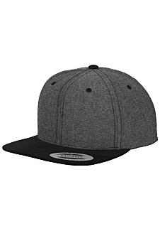FLEXFIT Chambray-Suede - Snapback Cap - Black - Planet Sports 30eb3ff1259