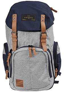 1ab2d22d3e NITRO Weekender 42L - Sac à dos - Gris - Planet Sports
