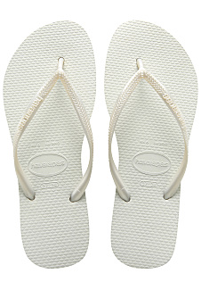 0849aa951 HAVAIANAS Slim - Sandals for Women - White - Planet Sports
