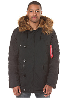 Alpha industries explorer parka coat