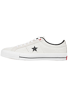 Converse One Star Pro Suede Ox - Sneakers - White