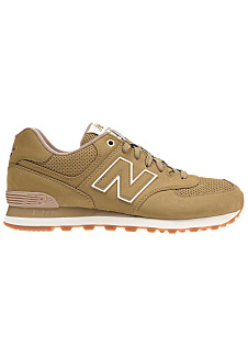 New Balance 574 Beige Et Rose