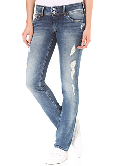 403e976e6bb PEPE JEANS Vera - Denim Jeans for Women - Blue - Planet Sports