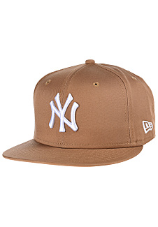 Casquette New York Marron