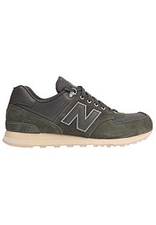 new balance ml574 calzado burdeos gris